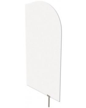 Predeľovacia stena biela 60 x 120 cm