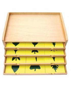 Botanická komoda s listami