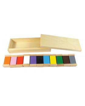 Farebné doštičky 3 - Odtiene