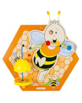Nástěnný labyrint včelka 3 (59 x 50 cm)