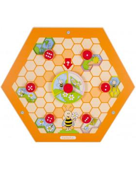Nástěnný labyrint včelka 4