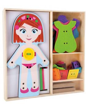 Obliekacia bábika