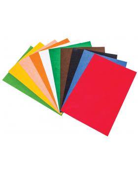 Dekoračný filc - 10 farieb