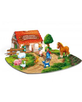 3D puzzle - Farma