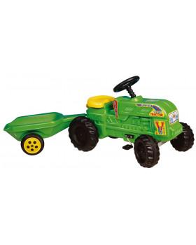 Turbo traktor z przyczepką
