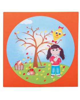 Materac 4 pory roku - Jesień
