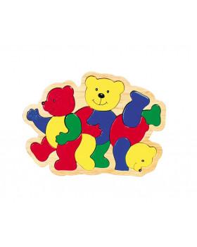 3 medvedíky