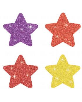 Nálepky - Farebné hviezdy