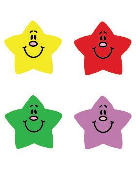 Nálepky - Usmievané hviezdy