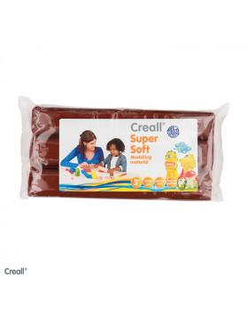 Creall - ultra jemná modelovací hmota - hnědá