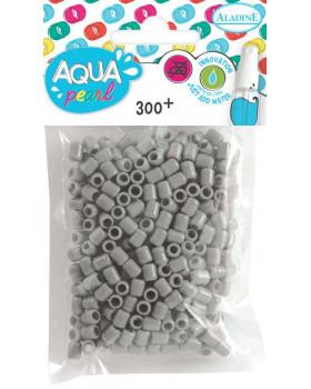Aqua Korálky - 300 ks - šedé