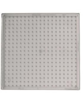 Desky pro korálky - transparent čtverec