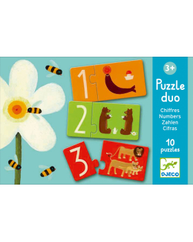 Duo Puzzle - Čísla