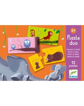 Duo Puzzle - Mamičky a mláďatka