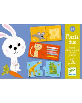 Duo Puzzle - Čím sa živia?