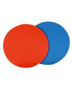 Dvojfarebné magnetické žetóny, 20 ks