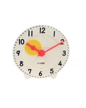 Školské hodiny - biele - Ø 28 cm