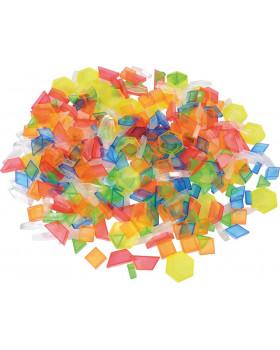 Farebná transparentná mozaika