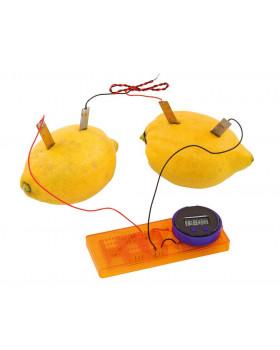 Citronové hodiny - experimentální sada