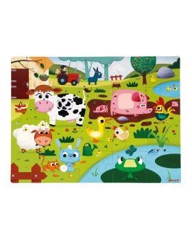 Hmatové puzzle - Život na farme