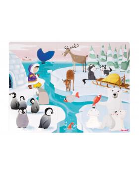 Hmatové puzzle - Život na ľade