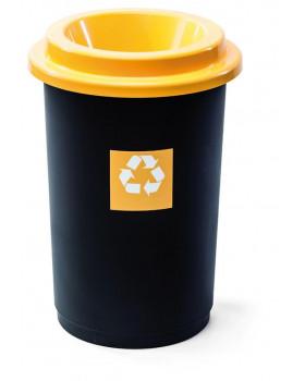 Kôš na triedenie odpadu - plast oranžový