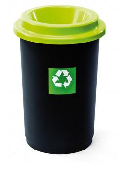 Koše na třídění odpadu - Sklo (zelený)