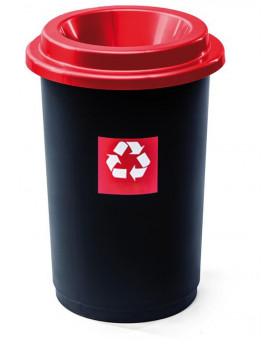 Kôš na triedenie odpadu - kovy (červený)