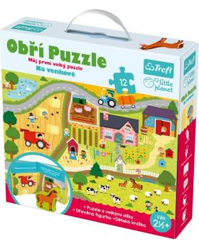 Giga puzzle - Na vesnici - česká verze