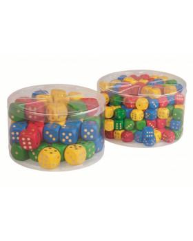 Hrací kostky - 50 ks