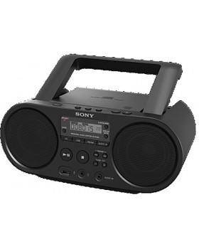 Radiomagnetofón s CD