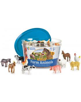 Počítanie so zvieratkami - Farma