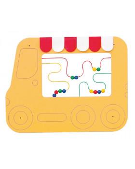 Nástěnné labyrinty - Autobus