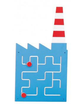 Nástěnné labyrinty - Továrna