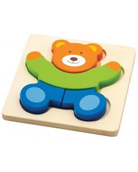 Moje prvé puzzle - Medvedík