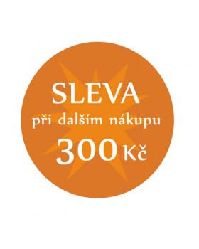 Sleva 300 Kč