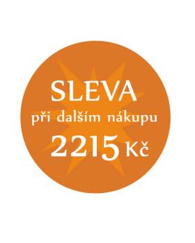 Sleva 2215 Kč