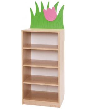 Tulipán - Úzká skříňka