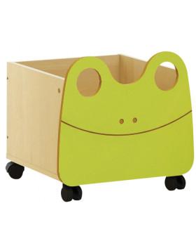 Kontejner na kolečkách Žabka - 1 ks