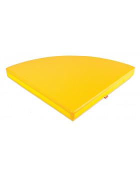 Farebné rohové matrace - žltý