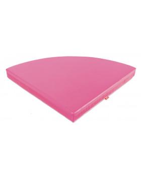 Farebné rohové matrace - ružový