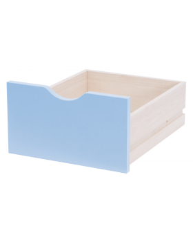 Zásuvka veľká - modré