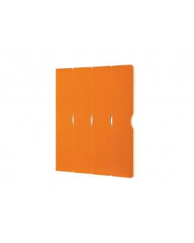 Dvířka na šatnu  Vita - Rohová 4 - oranžové