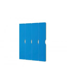Dvířka na šatnu  Vita - Rohová 4 - modré