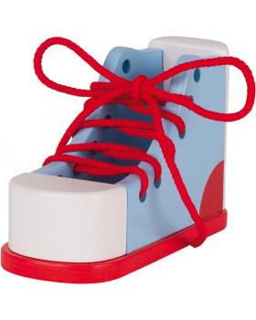 Tréningová topánka - Viazanie šnúrok