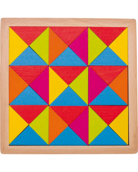 Dřevěná mozaika - Duha