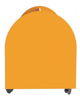 Vozík na knihy a hry - Javor oranžový