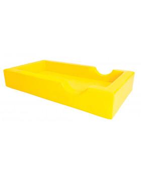 Łóżeczko piankowe - żółte