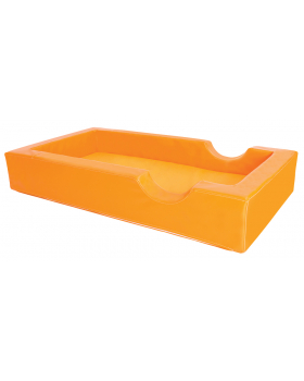 Łóżeczko piankowe - pomarańczowe