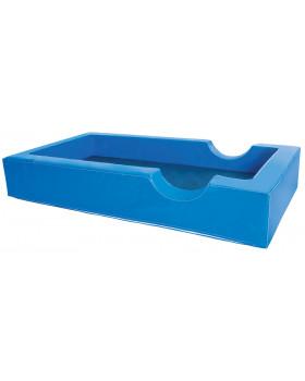Łóżeczko piankowe - niebieskie